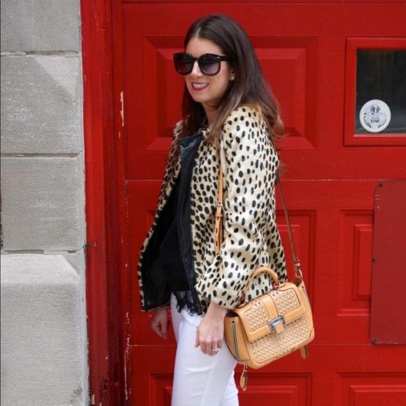 Kristen Blake Jackets & Blazers - Leopard Jacket Size XS